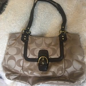 Coach Carryall Shoulder Tote
